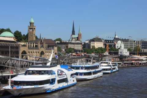 Hamburg City Bus Tour and Harbor Boat Cruise Combo Ticket