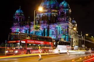 Festival of Lights: Lightseeing XL - Bus- und Bootstour