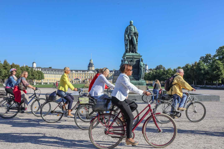 Karlsruhe: Stadtrundfahrt mit dem Fahrrad