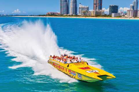 Miami: 45-Minute Sightseeing Speedboat Tour