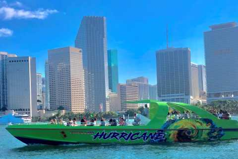 Miami: 45-Minute Extreme Jetboat Ride