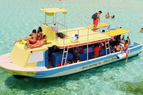 Cozumel: VIP Glass Bottom Boat & Snorkeling 3 Reefs Tour