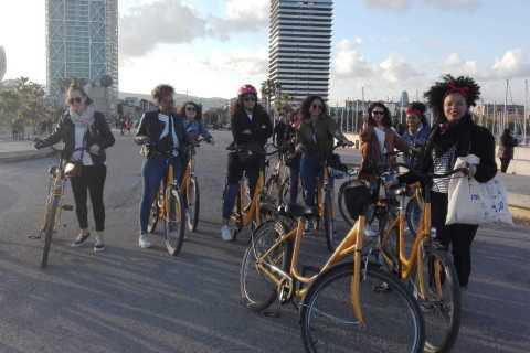 Barcelona Bike Tour in French