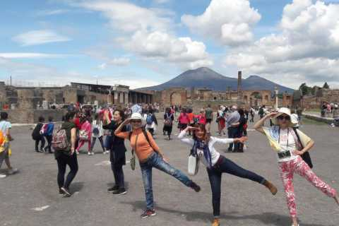 Pompeii Private Guided Tour with Official Tour Guide
