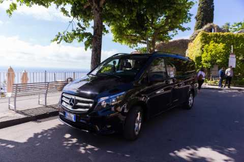 Naples: Private Minivan Transfer to or from the Amalfi Coast