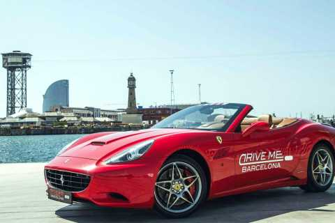 Barcelona: Ferrari Driving and Jet Ski Experience