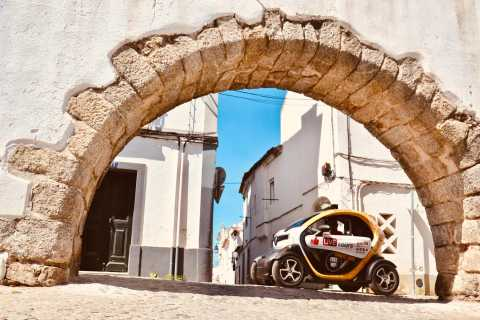 Evora: Self-Guided City Tour by E-Car with GPS Guide