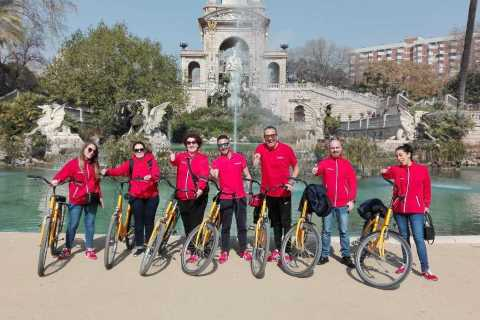 Barcelona: Guided Bicycle Tour in Italian
