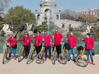 Barcelona: Geführte Radtour in italienischer Sprache