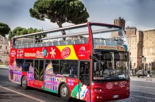 Rom: Sightseeingtour per Hop-On-Hop-Off-Bus & Audiotour