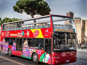 Rom: Sightseeingtour per Hop-On-Hop-Off-Bus & Audiotour