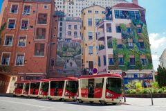 Lyon: Excursão guiada por áudio de 1 hora pela City Tram