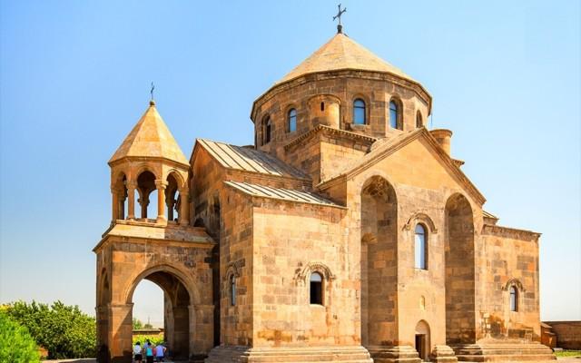 Van Yerevan: Khor Virap, Etchmiadzin en Zvartnots Tour