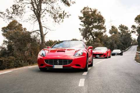 Barcelona: Ferrari Driving Experience to Barcelona Mountain