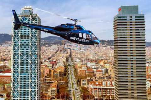 Barcelona: Ferrari Driving and Helicopter Experience