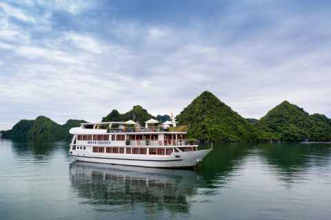 From Hanoi: 3-Day/2-Night Luxury Lan Ha Bay Cruise