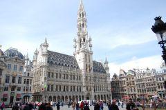 Bruxelas: Excursão a Pé Gratuita c/ Taxa de Reserva