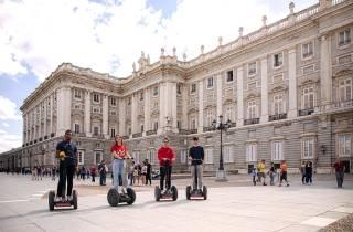Segway-Tour durch die Innenstadt von Madrid