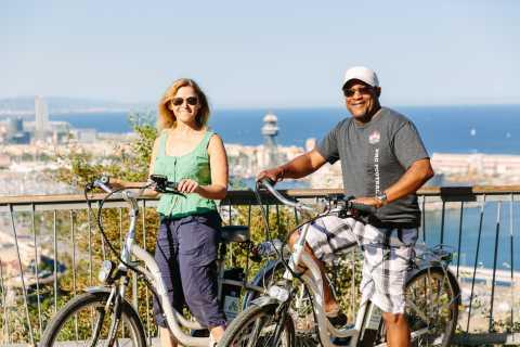 Elektrisk cykeltur i Montjuic och Barcelona