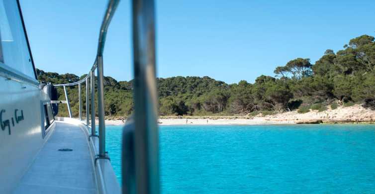 Menorca: 3.5 Hour South Coast Boat Excursion