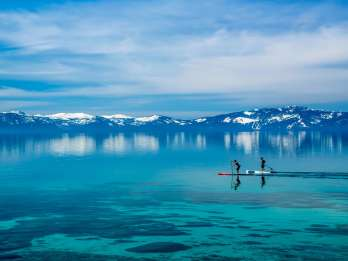 Lake Tahoe: North Shore Stand Up Paddleboard-Verleih