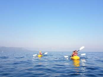Lake Tahoe: Kajak- oder Paddleboard-Tour am Nordufer