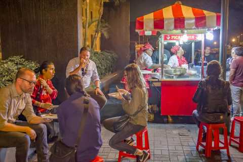 Lima: Historic Center Street Food & Old Taverns Experience
