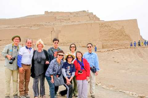 From Lima: Half-Day Pachacamac, Barranco and Chorrillos Tour
