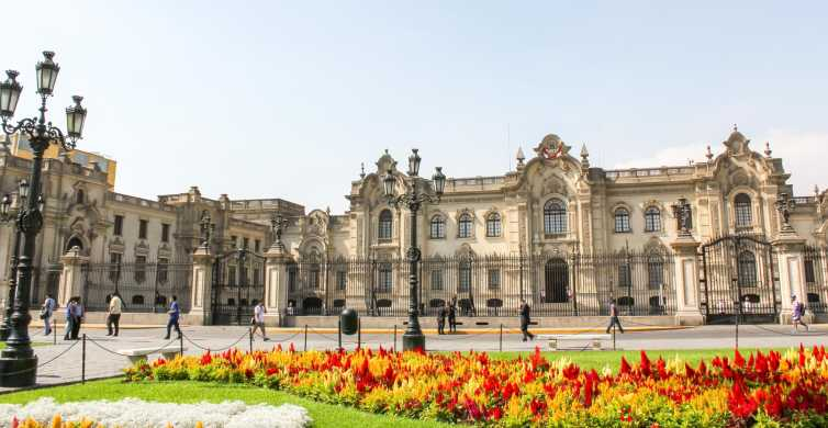 Lima: Downtown, Miraflores & Catacombs Small Group Tour