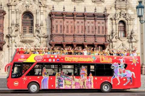 Lima: Panoramic City Bus Tour