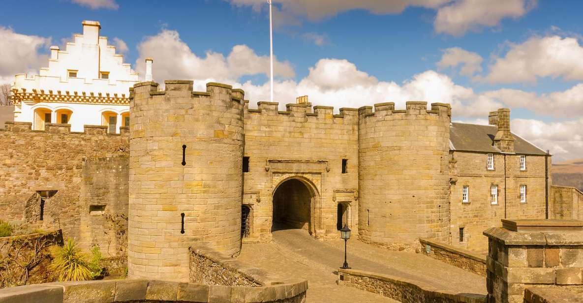 From Glasgow: Loch Lomond, Trossachs & Stirling Castle Tour