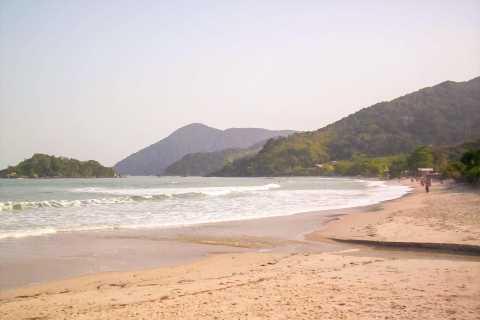 From São Paulo: Santo Amaro Island & Wild Beaches Day Trip
