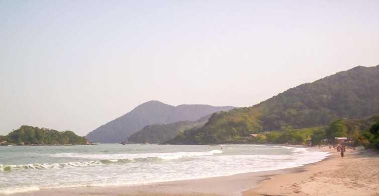 De São Paulo: Viagem de 1 Dia Ilha de Santo Amaro e Praias