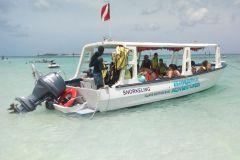 Nassau: Passeio de Barco com Fundo de Vidro, Banana Boat e Snorkelling
