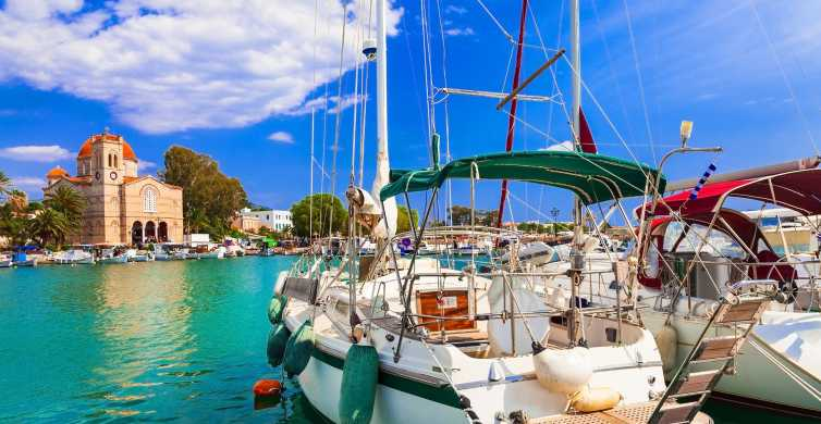 Athens: Guided Day Trip to Aegina and Agistri Islands