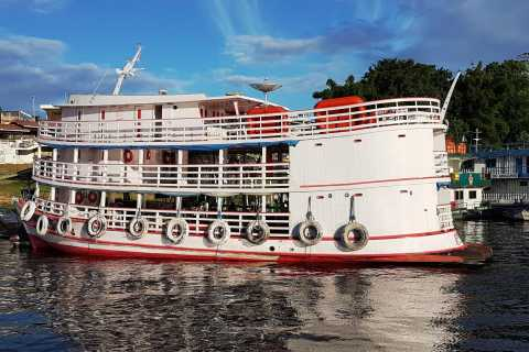 Manaus to Belem 5-Day Local Boat Trip
