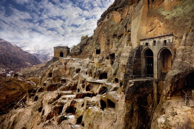 Vanuit Tbilisi: dagtrip Vardzia, Rabati en Borjomi