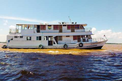 From Manaus: Rio Negro & Anavilhanas 3 or 4-Day River Cruise
