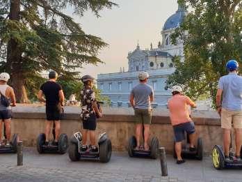Madrid: Segway-Tour im Stadtzentrum und Retiro Park