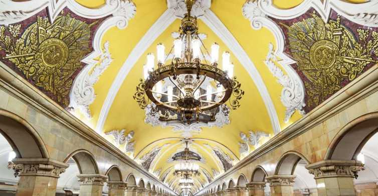 Moscow: Metro and Red Square Small Group Tour