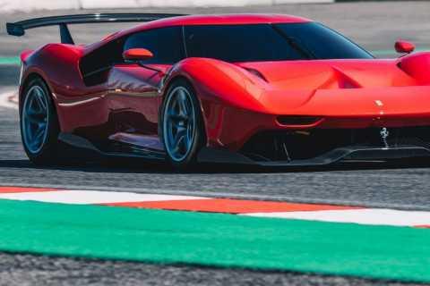 Ferrari ganzer Tag