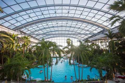 Desde Bucarest: Parque de actividades y viaje de spa