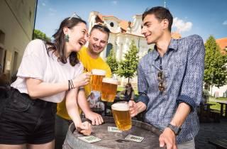 Prag: 3-stündige Segway-Tour Craft Beer-Verkostung