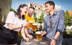 Praga: tour en segway de 3 horas con degustación de cerveza artesanal monástica