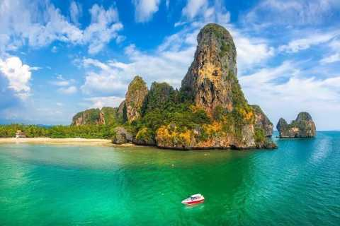Krabi: Private Speedboat Tour to Phi Phi and 4 Islands
