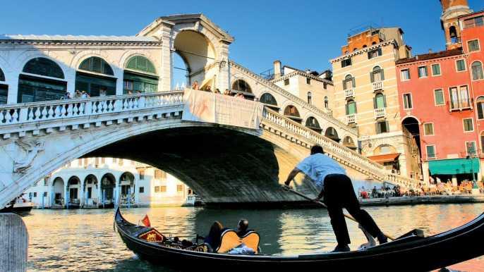 Venecia: tour combinado de San Marcos a pie y góndola