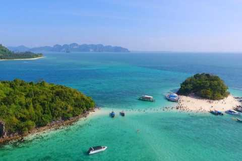 Krabi: Hong Island and 4 Islands Private Speedboat Charter