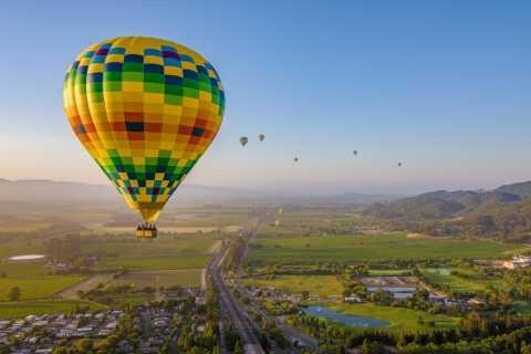 Aventura de Balão de Ar Quente no Vale do Napa
