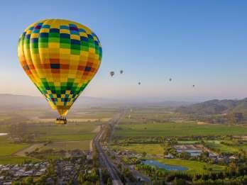 Napa Valley: Heißluftballonfahrt