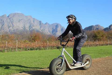 Franschhoek: Down Hill Scooter Tour